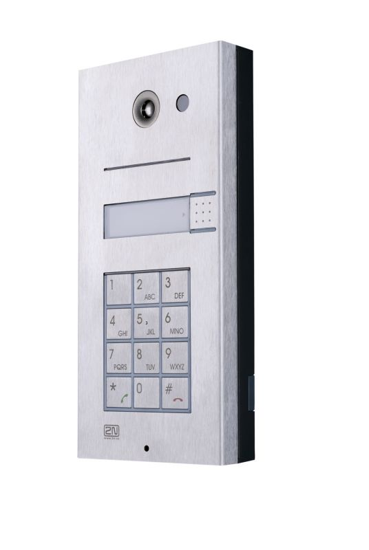 2N Helios Základní modul, 1 tlačítko + klávesnice
