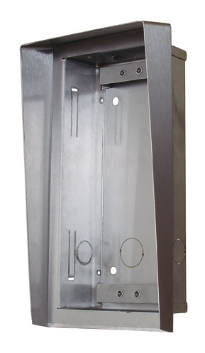 2N Helios - Stříška a zápustná krabice pro 1 modul