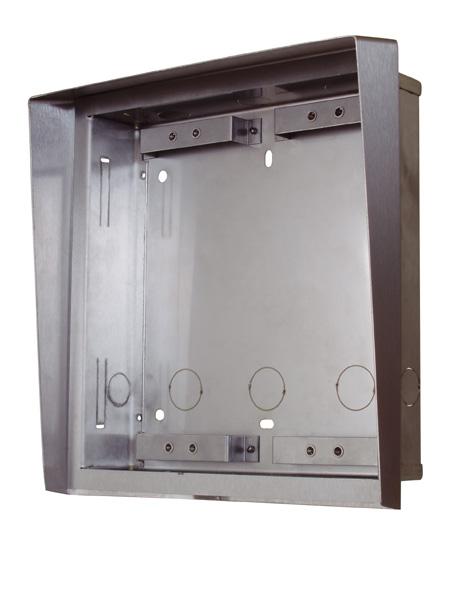 2N Helios - Stříška a zápustná krabice pro 2 moduly