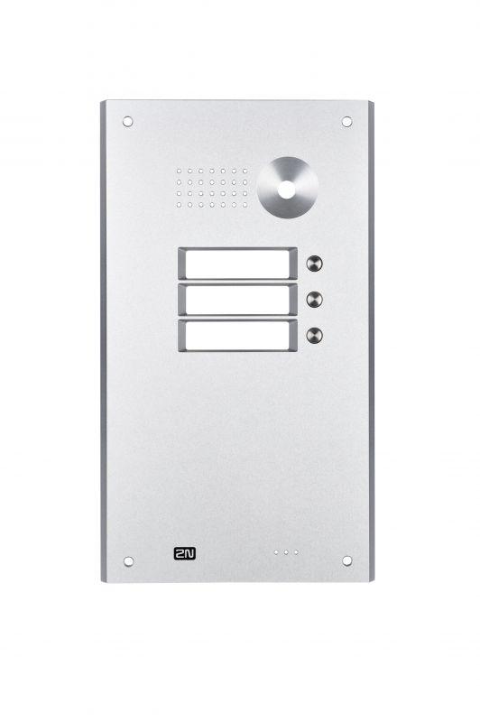 2N Helios Antivandal - maska 3x1 tlačítko + zápustná krabice pro 1 modul