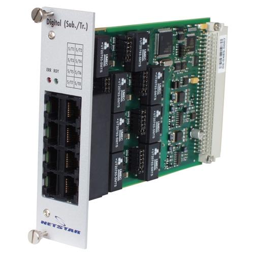 ATEUS NetStar BRI modul,8 BRI portů