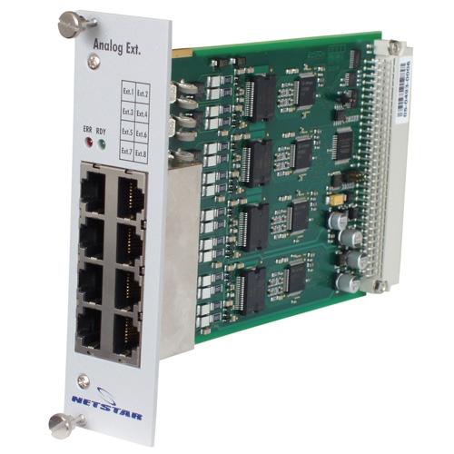 ATEUS NetStar CO/AVL modul, 4 CO/4 AVL portů