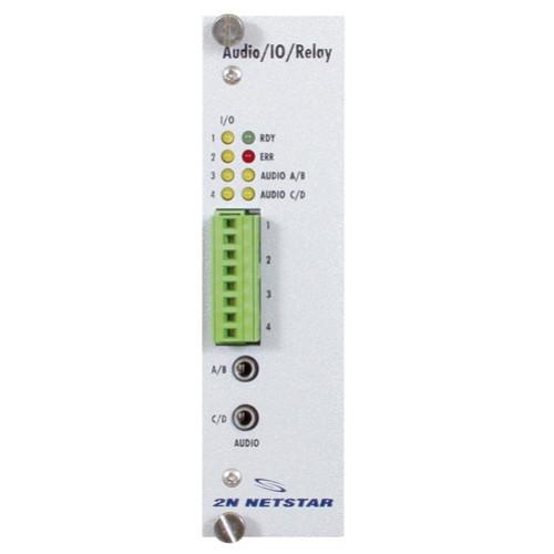 ATEUS NetStar AUDIO/IO modul, 4 AUDIO/4 IO