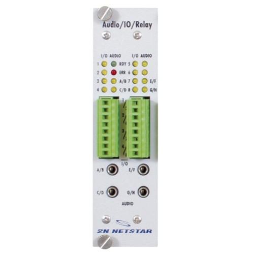 ATEUS NetStar AUDIO/IO modul, 8 AUDIO/8 IO